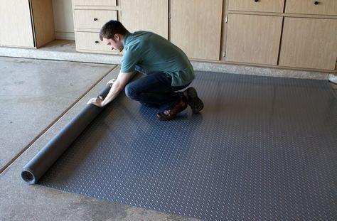 Diamond Nitro Rolls Premium Grade Vinyl Garage Floor Rolls Vinyl Garage Flooring Garage Floor Coatings Garage Floor