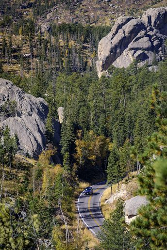 Scenic Drives South Dakota Game Fish And Parks Custer State