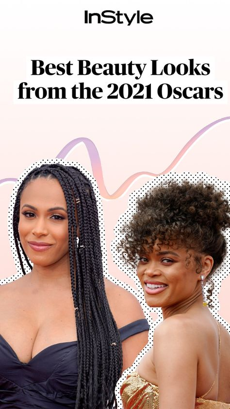 Best Beauty Looks from the 2021 Oscars