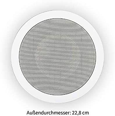 Eine Einbauleuchte Wird Zum Einbaulautsprecher Einbaulautsprecher Lautsprecher Einbauleuchten