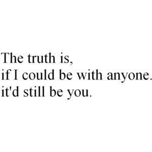 If I could be with anyone...