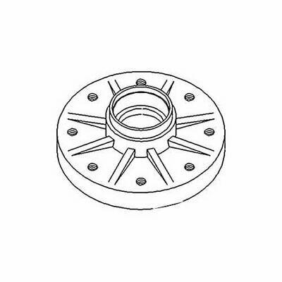 Wheel Hub For Ford 8530 Tw10 Tw25 Tw20 Tw35 Tw5 8630 8730 8830 Tw30 E1nn1104aa In 2020 Ford Wheel Ebay