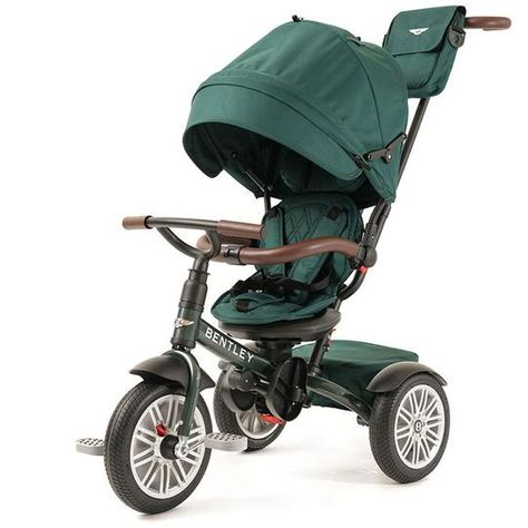 Spruce Green Bentley 6 in 1 Stroller Trike