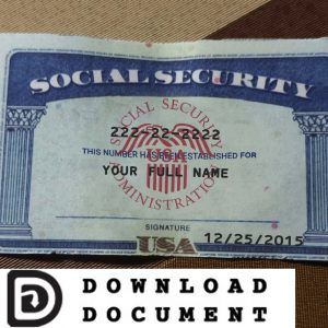 P 1 514 448 2770 Email Sscpsdkermit Gmail Com Facebook Social Security Card Cards Card Template