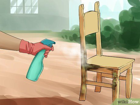 Remove Mold From Wood Furniture Cleaning Wood Furniture Mold