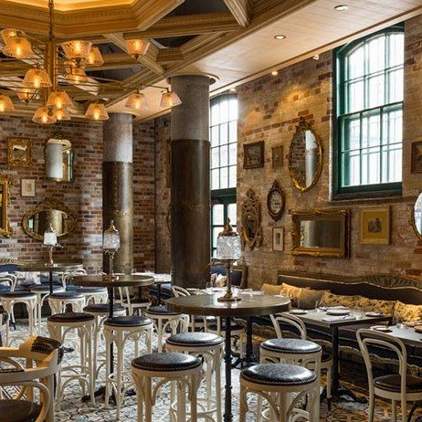 Cluny Bistro Boulangerie The Distillery District Toronto Interior Design By Studio Munge