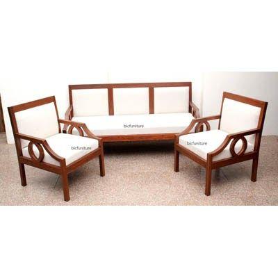 Contemporary Teak Sofa Set Tw 101 Delectable Wooden Sofa Set For Small Living Room Modern Hds Hd385 Eur In 2020 Wooden Sofa Designs Sofa Design Contemporary Sofa Set