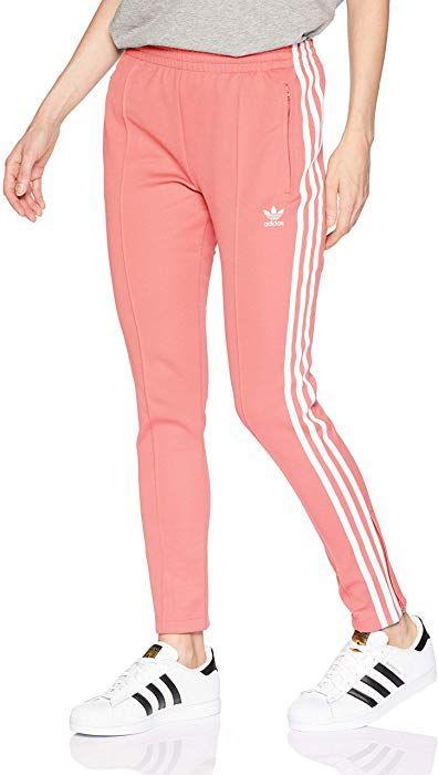 adidas Originals Women's Superstar Trackpants Tactile Rose L