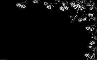 صور سوداء 2020 خلفيات سوداء ساده للتصميم Black Background Wallpaper Black And White Flowers Black Hd Wallpaper