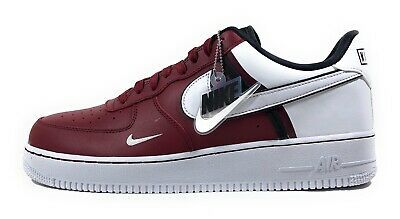 Nike Air Force 1 '07 LV8 Womens Team Red White Lifestyle