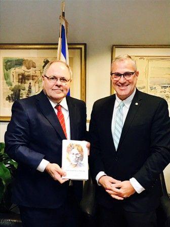 Michael Wildes Meets with Israeli Consul General Dani Dayan