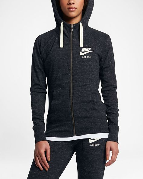 Sportswear Gym Vintage Women's Full-Zip Hoodie – my Nike style.