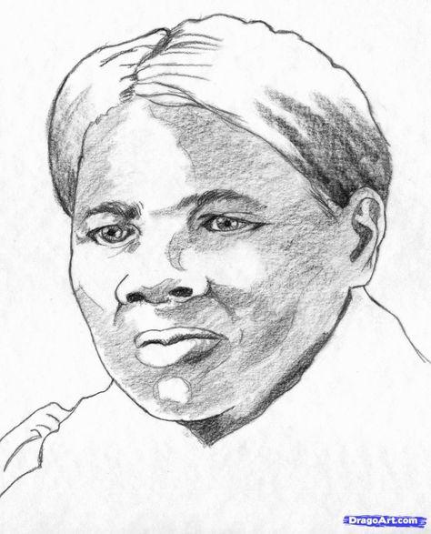 Harriet Tubman Coloring Pictures | Harriet tubman, Color ...