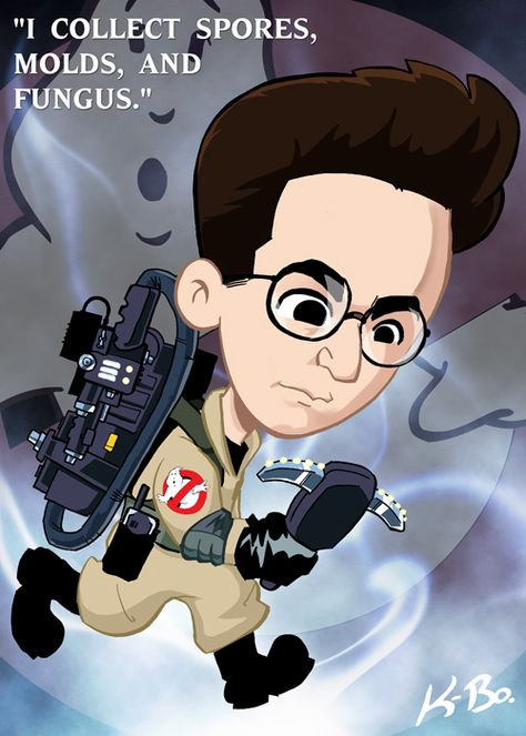 Ghostbusters Egon Spengler by *kevinbolk on deviantART - RIP Harold.