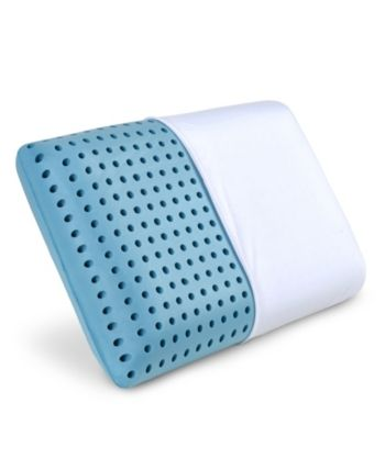Pharmedoc Lunablue Memory Foam Pillow With Cooling Gel White