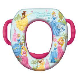 Disney Princess Cushioned Vinyl Round Toilet Seat 49150 Potty