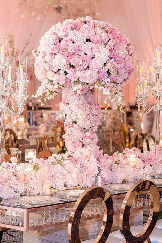 42 Glamorous Rose Gold Wedding Decor Ideas Wedding Forward Rose Gold Wedding Decor Gold Wedding Decorations Rose Gold Wedding