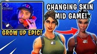 Cdnthe3rd Ceez Was Shocked That This Player Can Change Skin Mid