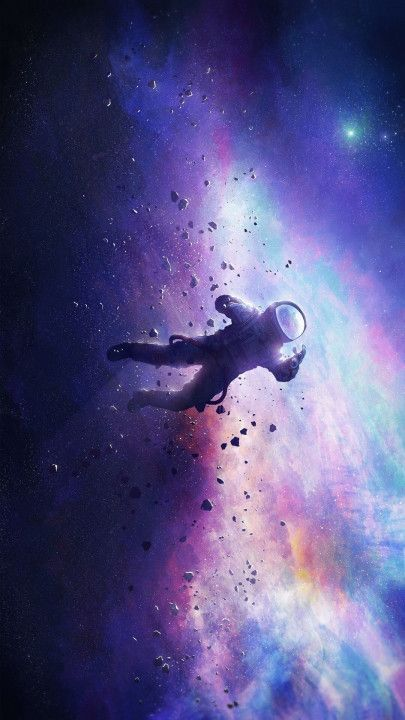 Lost In Space Mobile Wallpaper Space Artwork Wallpaper Space Astronaut Wallpaper