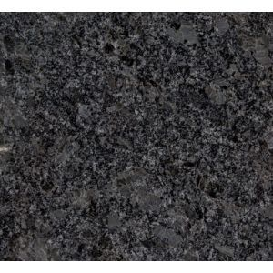 Powder Bath Granite Countertop Steel Grey Polished With Eased Edge Grey Granite Countertops Grey Granite Granite Countertops