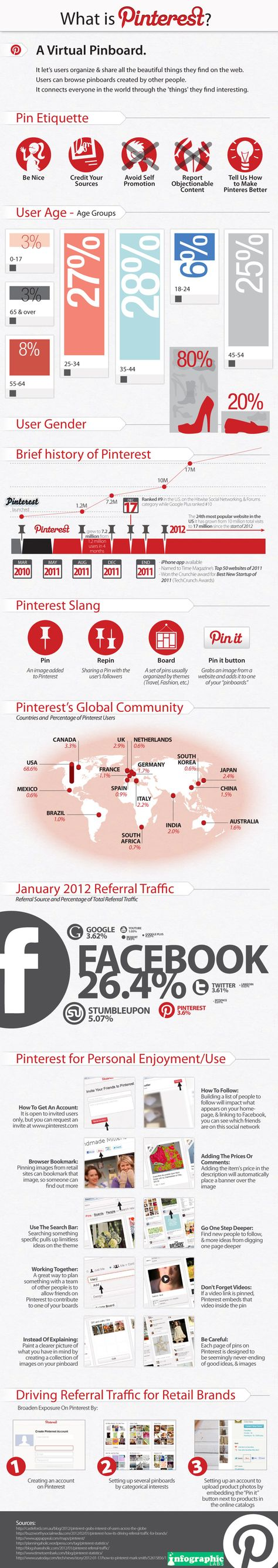 What is #Pinterest? Infographic