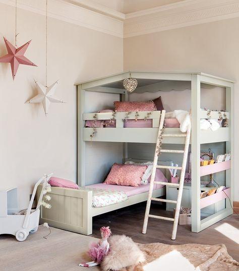 10 ideas para una habitación de dos o más · ElMueble.com · Niños