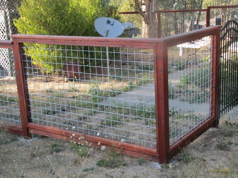 Hog Wire Panels Would Be Great For The Dogs Fence