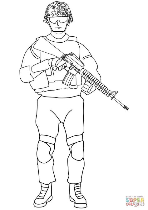 Coloring Books | United States Armed Forces - Military Coloring ... | 670x474