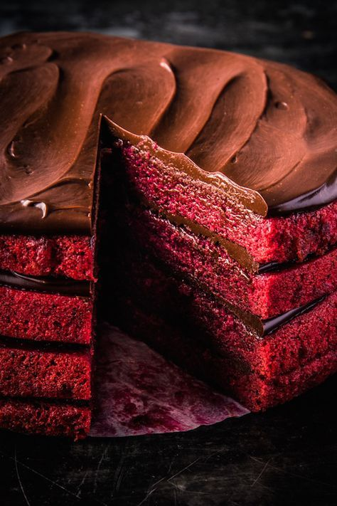 Give Classic Red Velvet An Earthy Boost With Roast Pureed Beets In This Recipe From Dandelion Chocolate S Chocolate Cookbook Pear And Almond Cake Almond Cakes