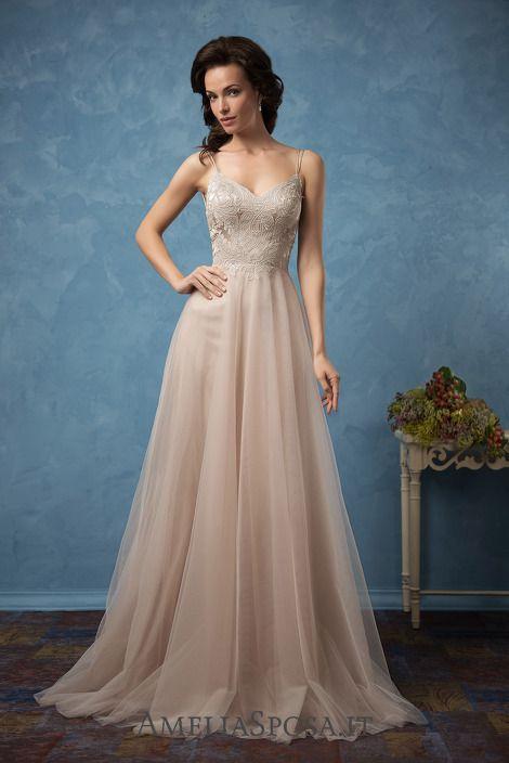 Wedding dress Carla - AmeliaSposa.   Beautiful bride   Pinterest ...