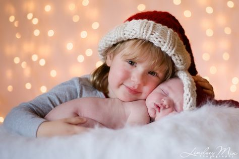 List Of Pinterest Newborns Photography With Sibling Christmas