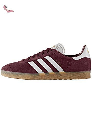 new style cheap price sold worldwide Adidas Gazelle chaussures 9,0 - Bordeaux/Blanc - Taille 43 1 ...