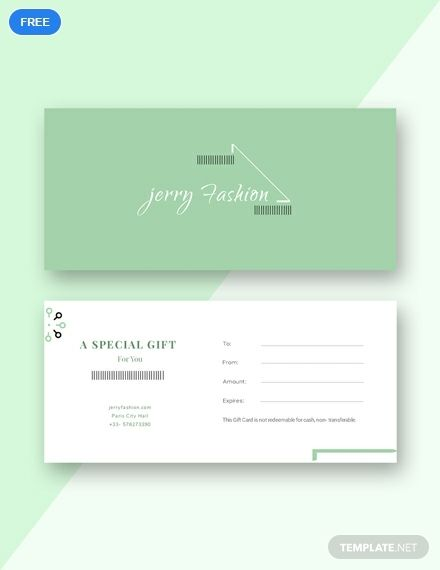 Fashion Store Gift Certificate Template Free Pdf Word Apple Pages Google Docs Illustrator Publisher Gift Certificate Template Gift Voucher Design Voucher Design