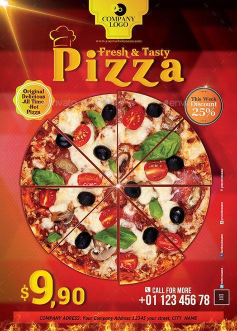 20 Best Pizza Restaurant Flyer Psd Templates