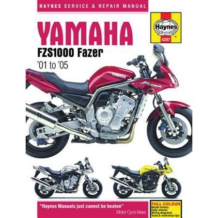 Haynes Service Repair Manual Yamaha Fzs1000 Fazer 01 To 05 Paperback Walmart Com Transmission Repair Yamaha Repair Manuals