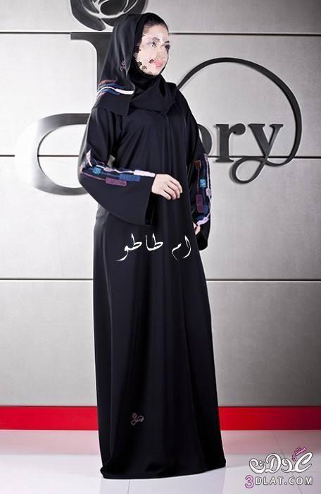 موسوعه عبايات خليجى 2018 عبايات سمره 3dlat Com 1394968166 Fashion Dresses Fashion Nun Dress