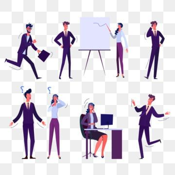 Set Of People Interacting Work Worker Png People Working Man Ready For Work Png And Vector With Transparent Background For Free Download People Png Social Media Icons Png