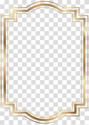 Beige Frame Illustration Gold Frames Gold Border Transparent Background Png Clipart Yellow Framed Art Gold Frame Transparent Background
