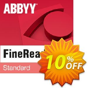 10 Off Abbyy Finereader 15 Standard Coupon Code On Spring Sales