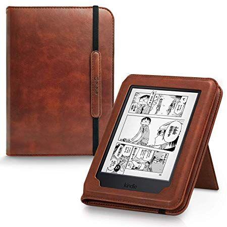 AUAUA Kindle Paperwhite Case -with Card Slot Hand Strap PU