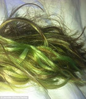 How To Fix Green Tones In Your Hair Chlorine Hair Green Hair
