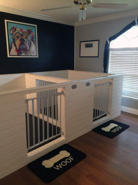 Top 60 Best Dog Room Ideas Canine Space Designs Puppy Room Dog Bedroom Dog Rooms