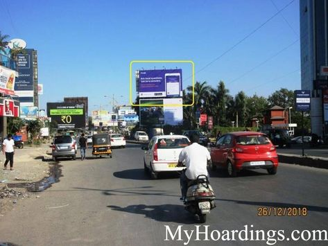 Highway Unipole in Hinjewadi Opp. Xion in Pune, Best outdoor advertising company Pune