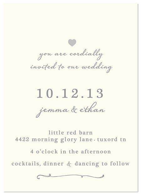 Wedding Invitations Super Simple And Classy Classy Wedding Invitations Simple Wedding Invitations Rustic Chic Wedding Invitation