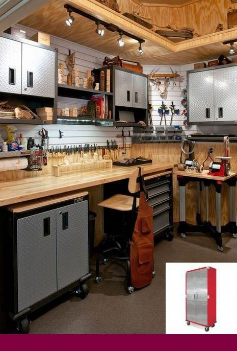 Cabinets And Garage Storage Organization Ideas And Overhead Garage Storage At Costco 8382342354 Garagestorag Garage Indeling Garage Ideeen Gereedschapsopslag