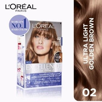 Reviews Excellence Fashion Ultra Lights 02 Golden Brown World S No 1 By L Oreal Paris W Protective Serum Conditi Loreal Loreal Paris Light Golden Brown