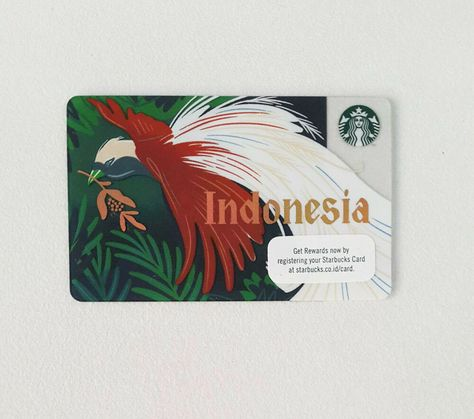 Starbucks Card Indonesia Independence Day 2019 Cendrawasih With