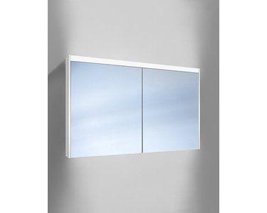 Schneider Badezimmer Spiegelschrank O Line Led 120 Cm Weiss 2