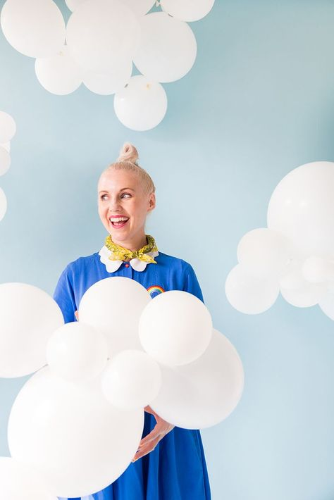 We love feeling sky-high! Color your life in clouds with a simple, pretty DIY.