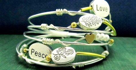 BLOW OUT SALE Sterling Silver Bangle/Bracelets Collection for only $9.99 for Limited Time. hurry and grab one before all are gone.